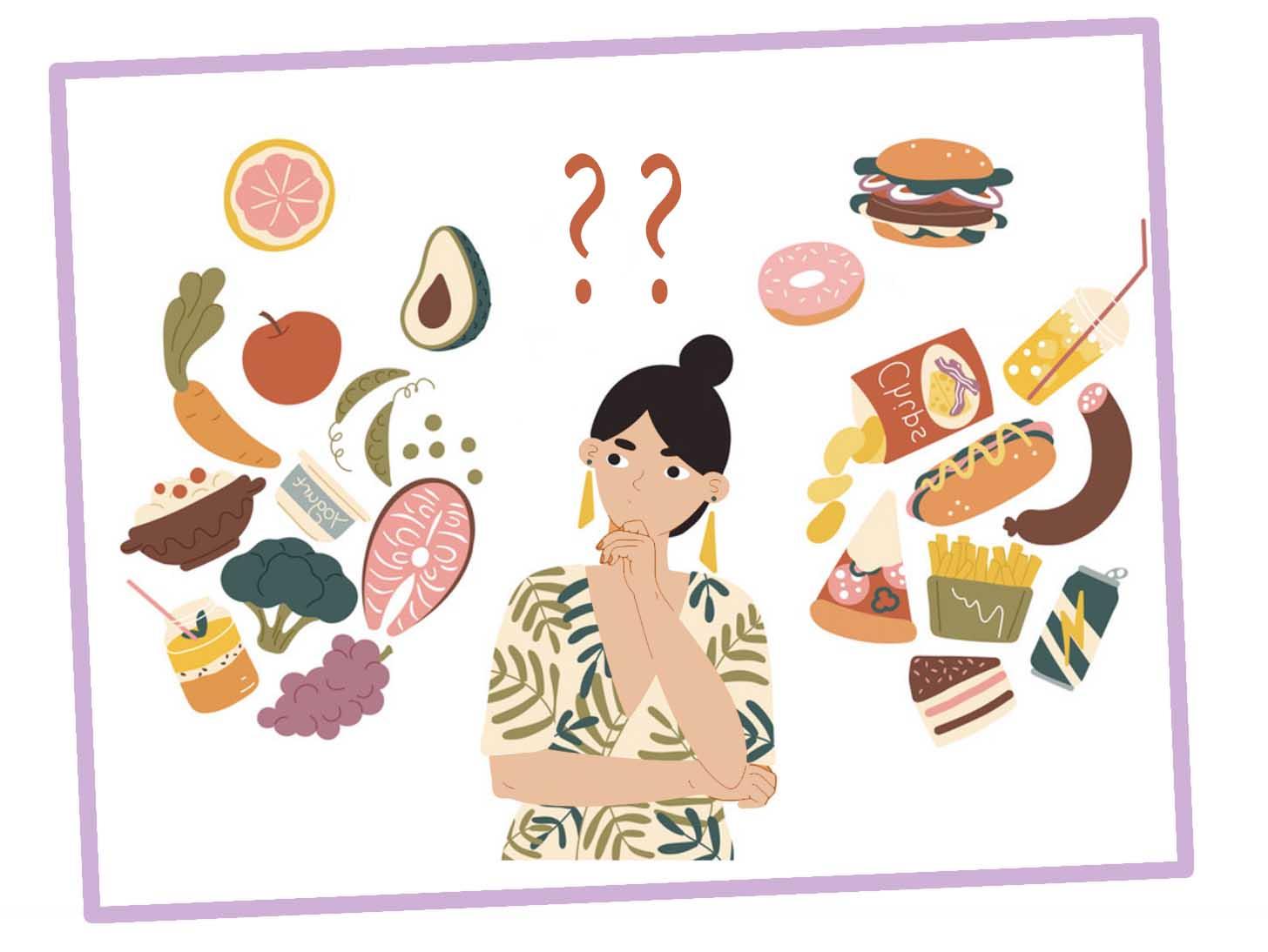 как правильно питаться, чтобы быть здоровым и похудеть