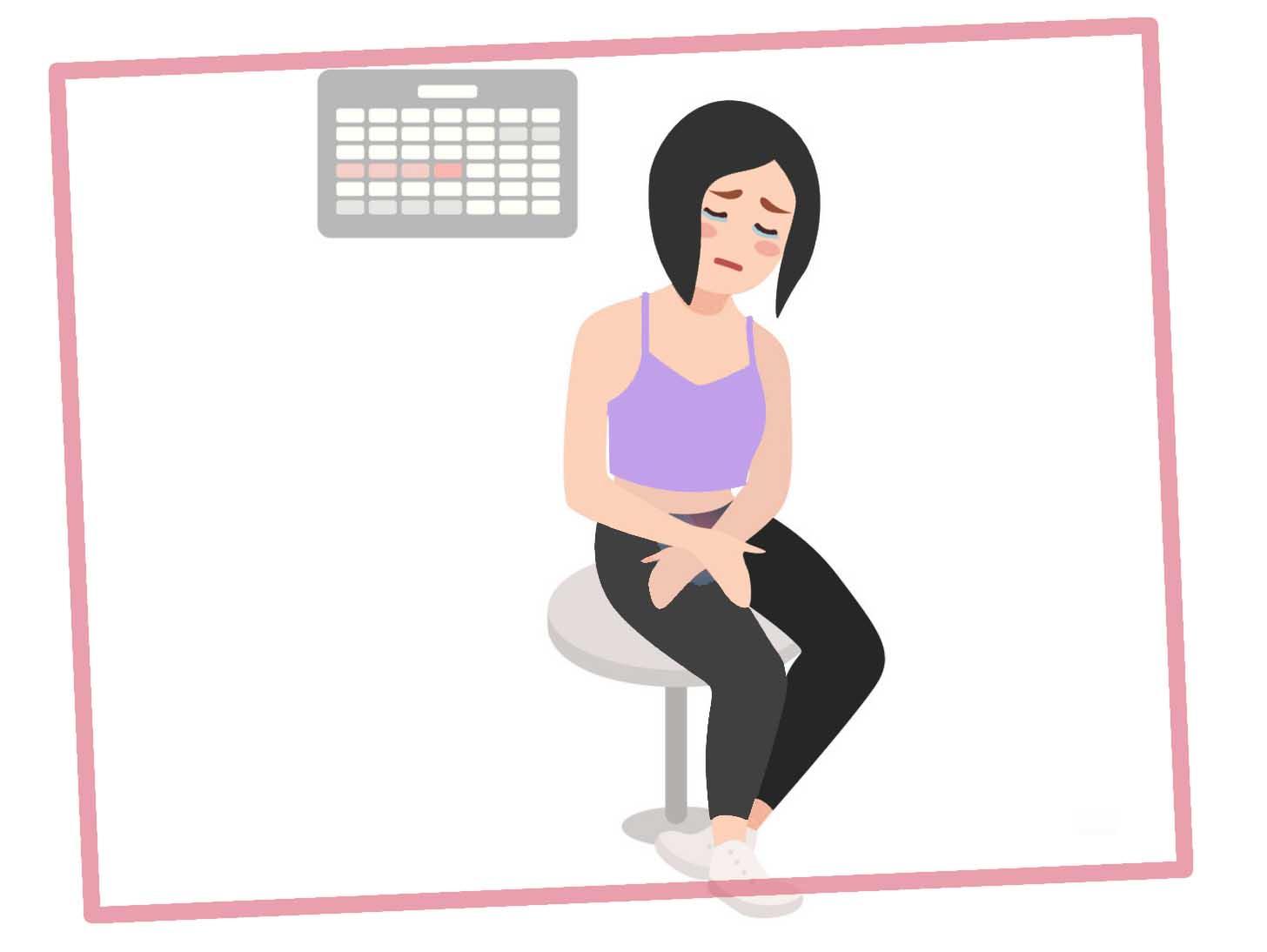 нарушение менструального цикла, причины