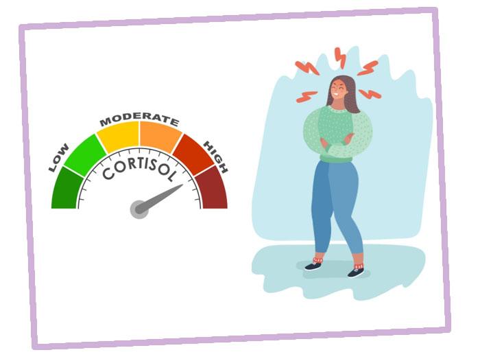 Повышенный уровень кортизола у женщин